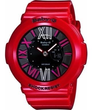 Relógio Casio Baby-g Bga-160-4ber - Vermelho