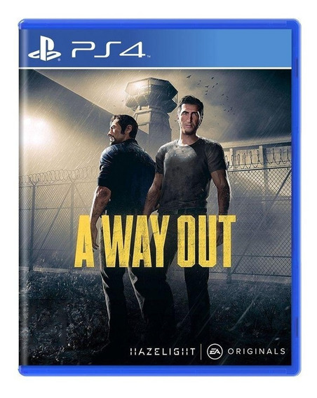 A Way Out Ps4 Mídia Física Pronta Entrega
