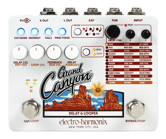 Pedal Electro-harmonix Grand Canyon Delay & Looper 12 Efeitos
