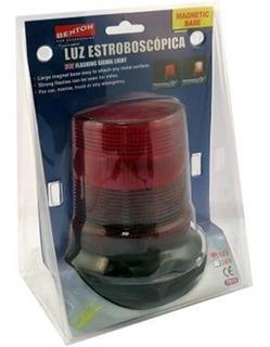 Baliza Estroboscopica Xenon Con Base Imantada 24v 5w Rojo