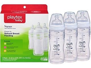Playtex Baby Nurser Biberón Pack X 3 - 8 Onzas B13