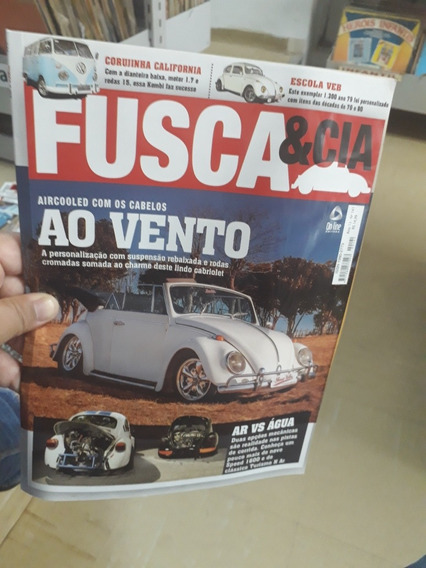 Revista Fusca E Cia N°141 Frete 8.00 Reais