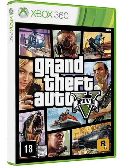 Gta V - Jogo P/ Xbox 360 Original - Midia Fisica Lacrado