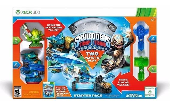 Skylanders Trap Team Xbox 360 - Kit Inicial - Lacrado