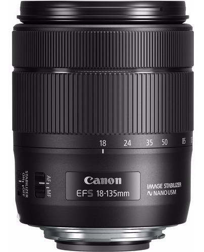 Lente Canon Ef-s 18-135mm F/3.5-5.6 Is Nano Usm Novidade