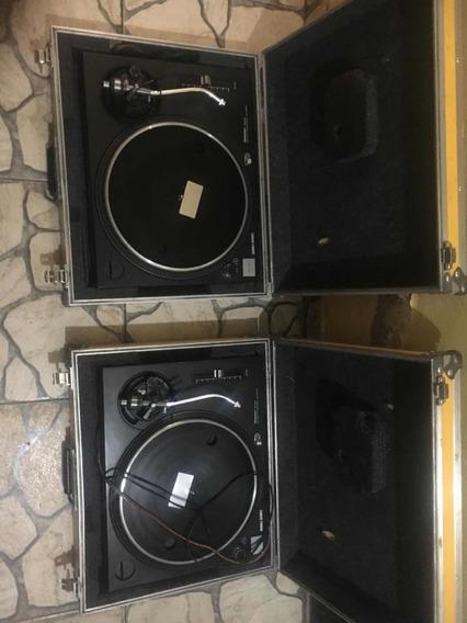 Par De Toca Discos Technics Mk 2 Sl 1200