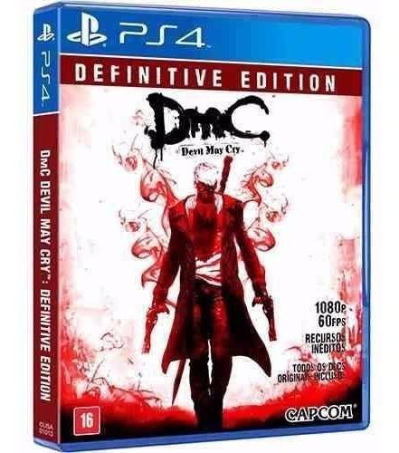 Dmc Devil May Cry Definitive Edition Ps4 Novo E Lacrado