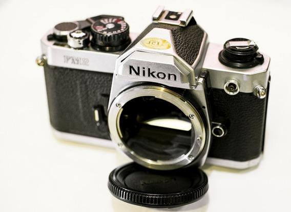 Câmera Fotográfica Nikon Fm2n Corpo, Analógica, Filme
