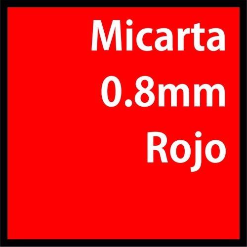 Micarta Peu Roja 300mm X 240mm X 0.8mm