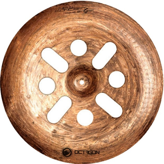 Prato Para Bateria New China 18 Groove Gr18cn Octagon