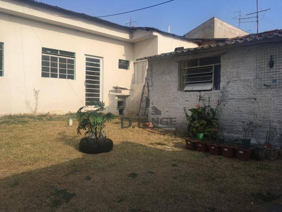 Casa Residencial À Venda, Chácara Cneo, Campinas. - Ca12123