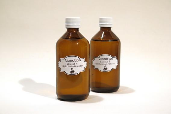 Químicos Para Cianotipia / Cianótipo Citrato Verde 250ml