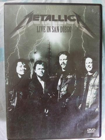 Metallica - Live In San Diego Dvd Original
