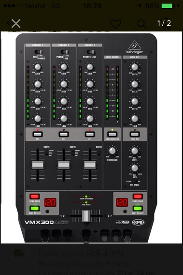 Mixer Behringer Vmx-300 Usb
