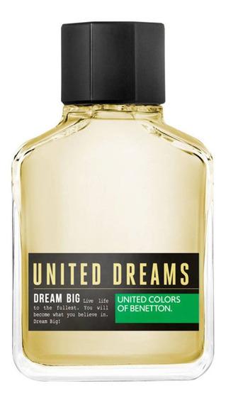 Dream Big Man Benetton Edt - Perfume Masculino 200ml Blz
