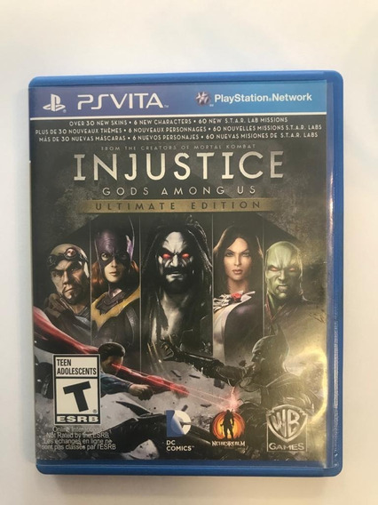Injustice Gods Among Us - Ultimate Edition Para Ps Vita