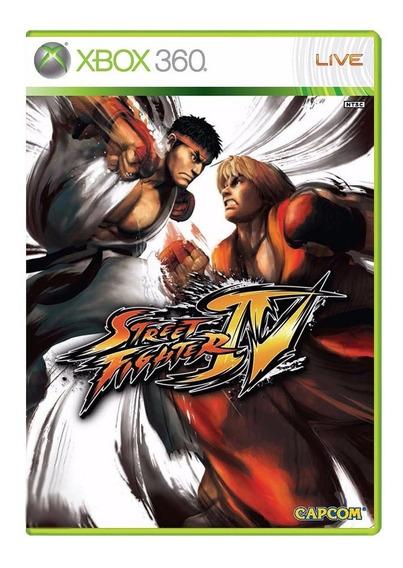 Street Fighter Iv - Xbox 360 - Usado - Original
