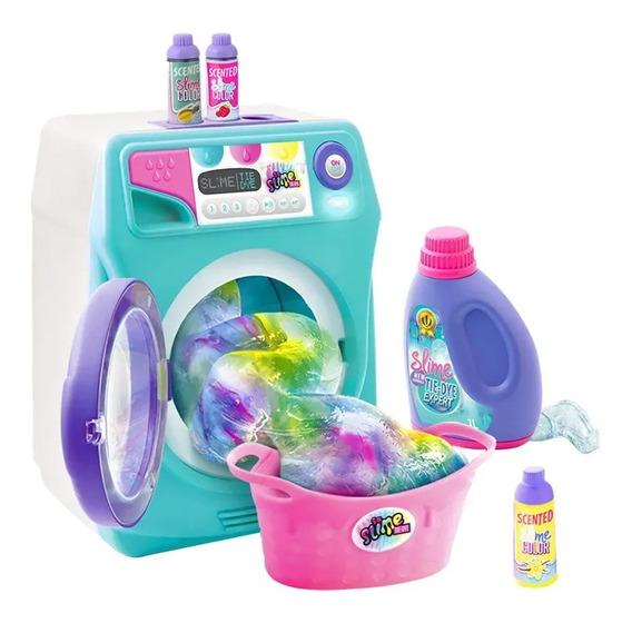 Máquina De Lavar So Slime Tye Dye C/ Som E Luzes 8620-9 Fun
