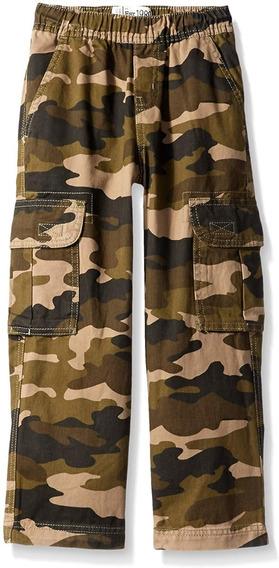 Tcp Pantalon Cargo Camuflaje Talla 8h(fornido)