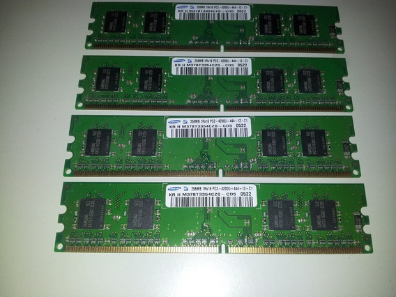 Memoria Ddr2 5300u 256mb X 18u