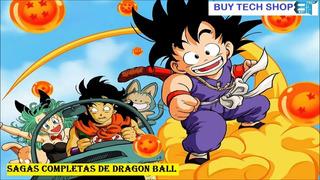 Series Dragon Ball/z/gt/super + Películas Y Mangas En Latino