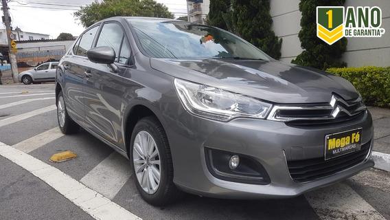 Citroën C4 1.6 Lounge Flex Aut. 4p 2018 Completo Ipva 19 Ok