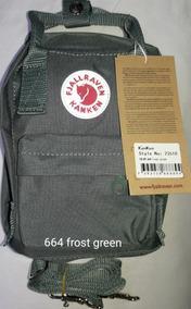 Mini Bolsa Fjallraven Kanken Classic Verde-664 Frostgreen