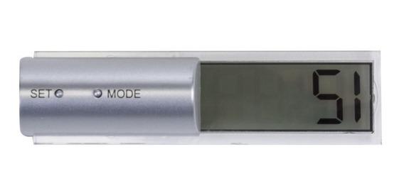 50 Relógio Lcd De Mesa Personalizado Relógio Plástico Digital Visor Lcd. Ao Apertar Duas Vezes O Botão Mode