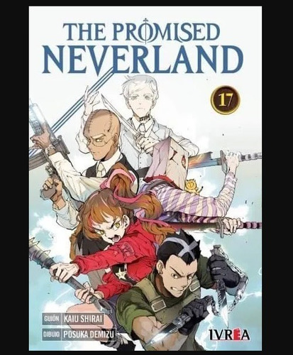 Imagen 1 de 1 de Manga The Promised Neverland Tomo 17 - Argentina