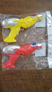 Pistola Lanza Agua Amarilla Roja Bolsa Lyon Toys July Toys