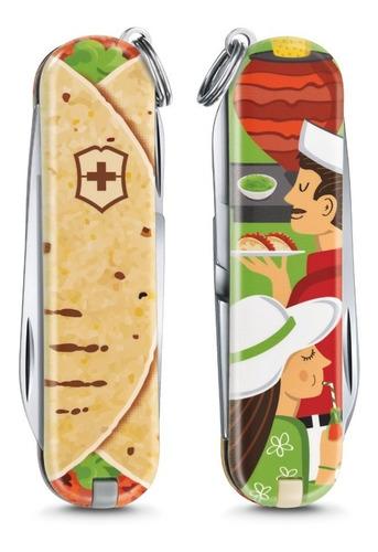 Navaja Victorinox Original Classic Mexican Taco 0.6223.l1903