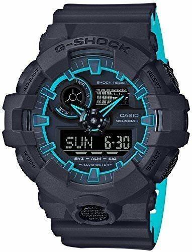 Relógio Casio G Shock Ga700se-1a2. 200 Metros 100% Original.