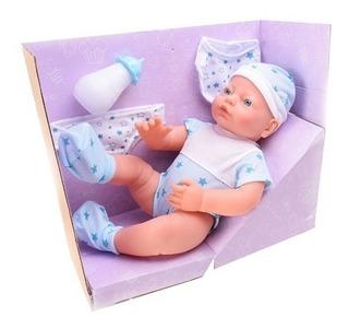 Bebote Muñeco Joaco Poppi Bebe Recién Nacido 35cm