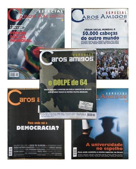 Kit Com 51 Revistas Caros Amigos - Várias Edições
