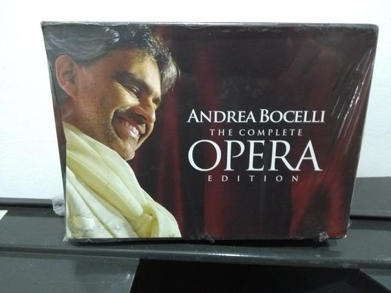 Box 18 Cds- Andrea Bocelli: The Complete Opera Edition- 2012