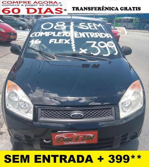 Ford Fiesta 1.6 Se Flex Completo 4pt Segundo Dono