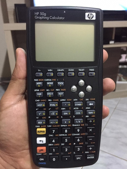 Calculadora Gráfica Hp 50g (pouco Uso)