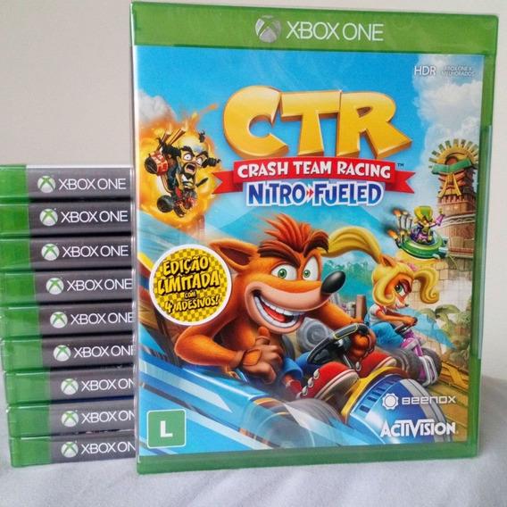 Crash Team Racing Nitro+fueled (mídia Física) Xbox One Pt-br