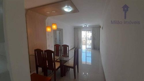 Imagem 1 de 30 de Apartamento Da Venda 2 Dorm, Sendo Um Suíte 2 Vagas De Garage Cobertas E Varanda Na Sala, Condomínio Art Campolim Sorocaba Sp - Ap1341