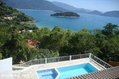 Casa Em Condomínio A Venda Em Ubatuba, Praia Do Pulso, 6 Dormitórios, 6 Suítes - 373