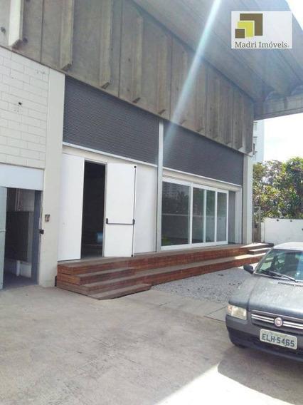 Imobiliária Madri Imóveis Aluga Galpão Vila Leopoldina. - Ga0029