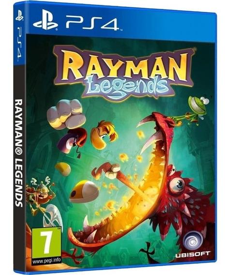 Jogo Rayman Legends Ps4 Disco Fisico Cd Original Português