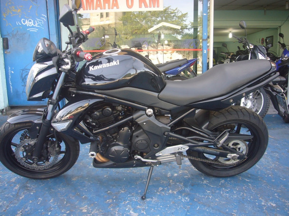 Kawasaki Er 6 N Ano 2010 Preta R$ 16.999 Nova Troca Financia