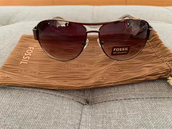Óculos De Sol Fossil Rena Brown