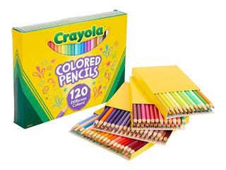 120 Lapices De Color Crayola, (no Repite Color)