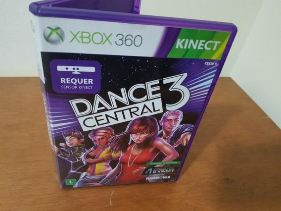 Dance Central 3 Usado Original Xbox 360 Midia Fisica