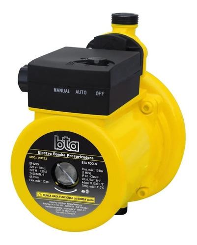 Imagen 1 de 5 de Bomba Presurizadora Nueva Bta 270 W Elevador Presión Baño
