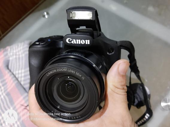 Câmera Canon Sx530 Hs Zoom 50x Wi-fi + Bolsa+cartão 2gb