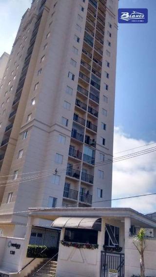 Apartamento Com 2 Dormitórios Para Alugar, 53 M² Por R$ 1.300/mês - Gopoúva - Guarulhos/sp - Ap3341
