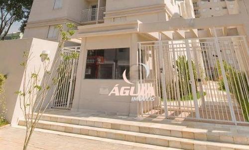 Apartamento Com 3 Dormitórios À Venda, 62 M² Por R$ 350.000,00 - Vila Alzira - Santo André/sp - Ap2740